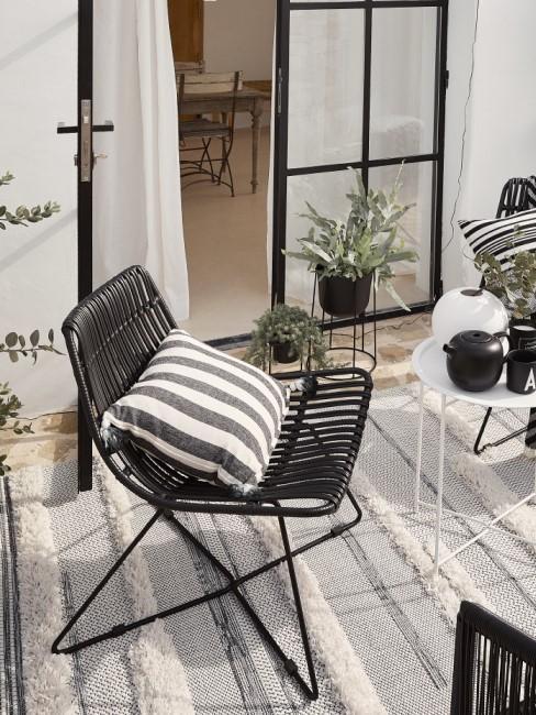 Rope Design als Trendmaterial bei Gartenmöbeln