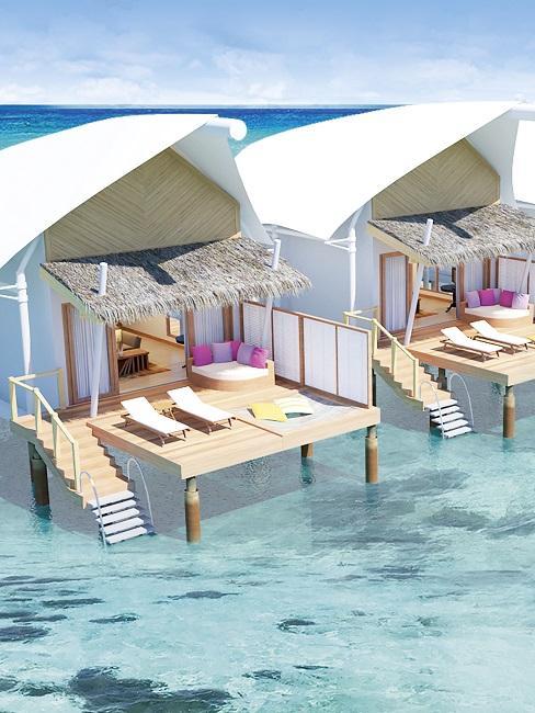 Honeymoon Reisen Cinnamon Hakuraa Huraa Maldives Bungalows