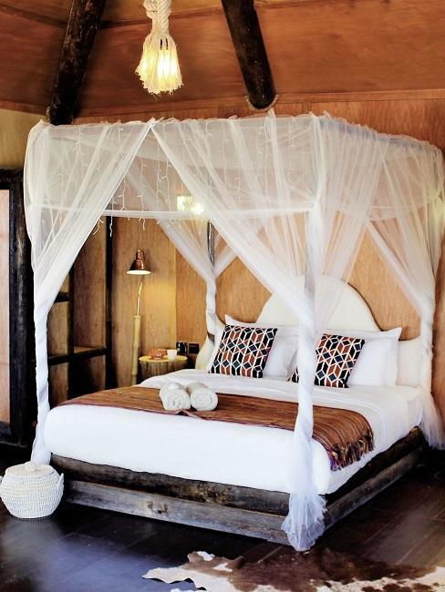 Honeymoon Reisen Souly Eco Lodge Zimmer Bett