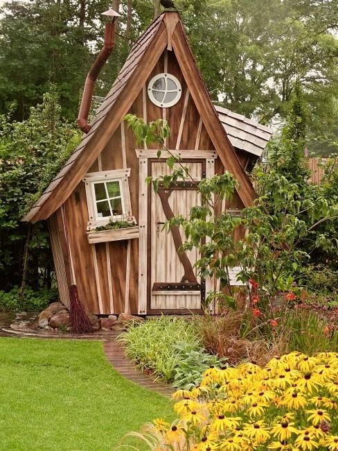 Gartenhaus im Schrebergarten