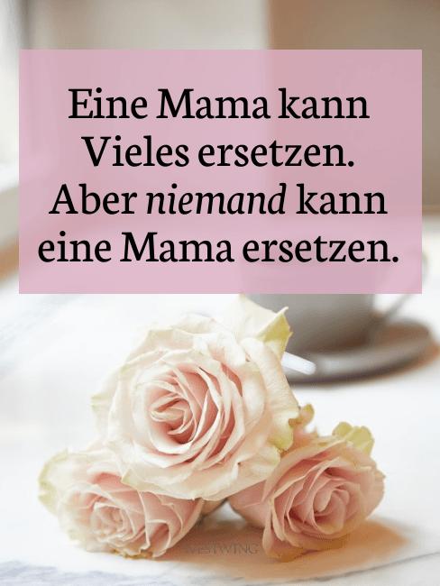 Danke sagen mit einem Spruch zum Muttertag