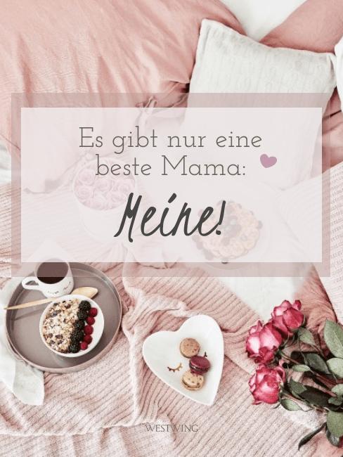 Berührende Grüße und Sprüche zum Muttertag