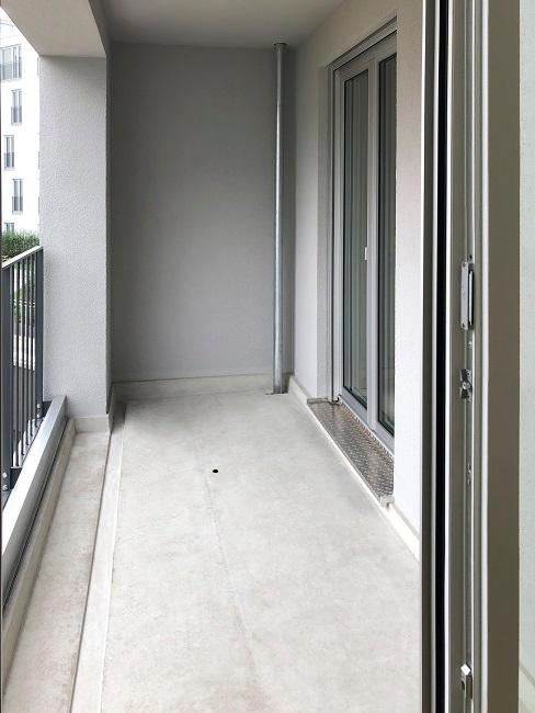 Homeoffice Wohnzimmer Vorher Balkon
