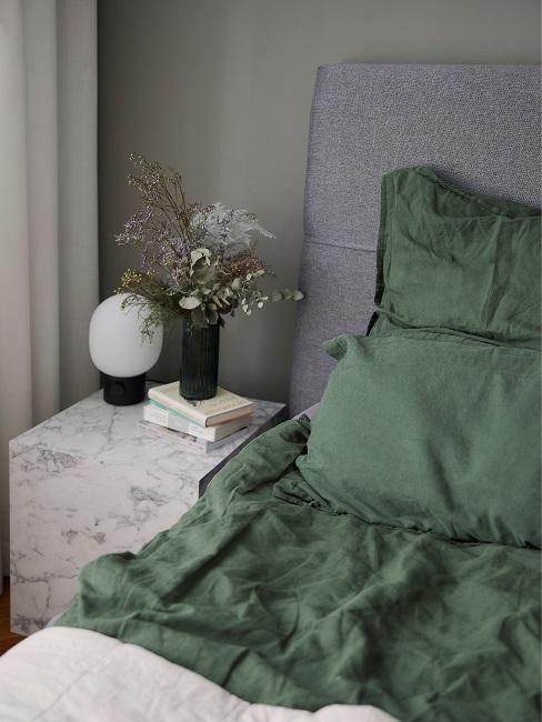 Masha Bett Deko Nachttisch Schlafzimmer
