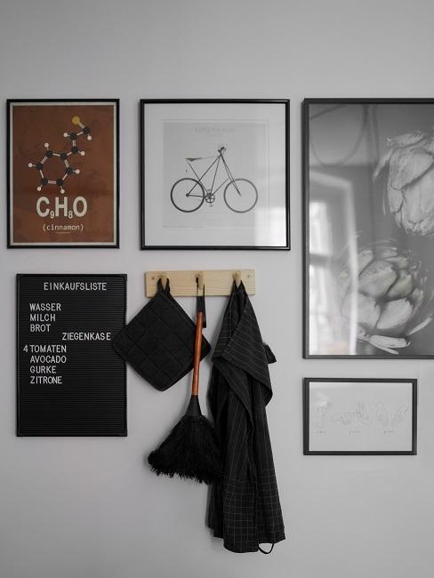 Masha Küche Wandbilder Haken