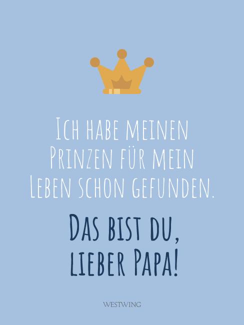 Schöne Vatertagssprüche für WhatsApp und Co.