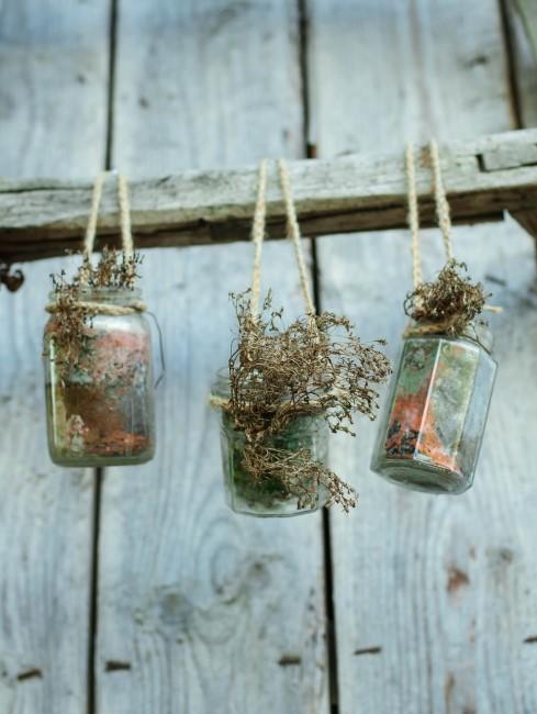 DIY für eine Pflanzenwand auf dem Balkon