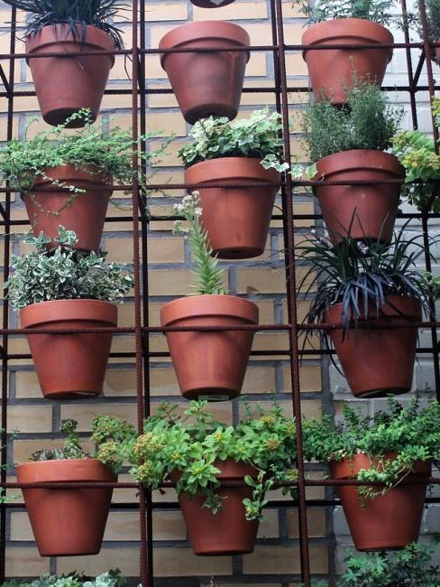 Vertical Gardening auf der Terrasse