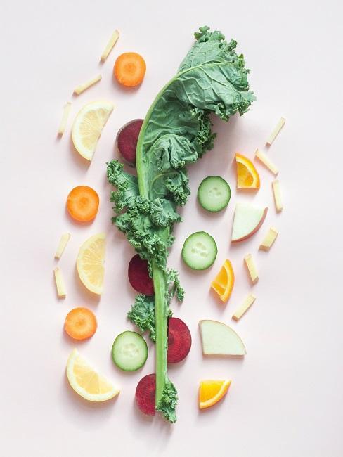 Intervall Fasten gesunde Ernährung Obst Gemüse