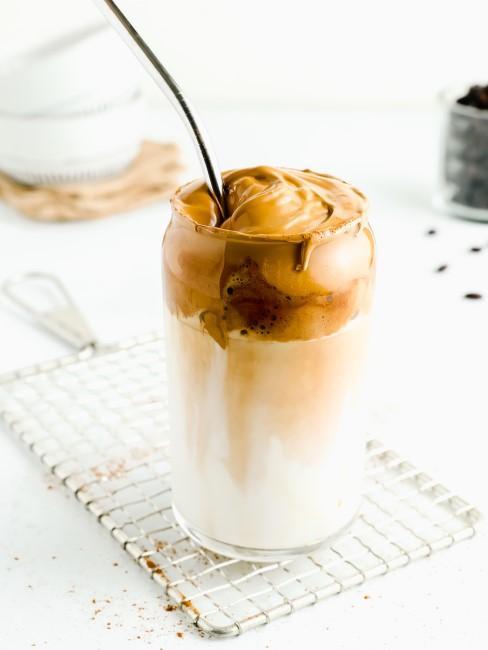 Rezept für den Trend Dalgona Kaffee