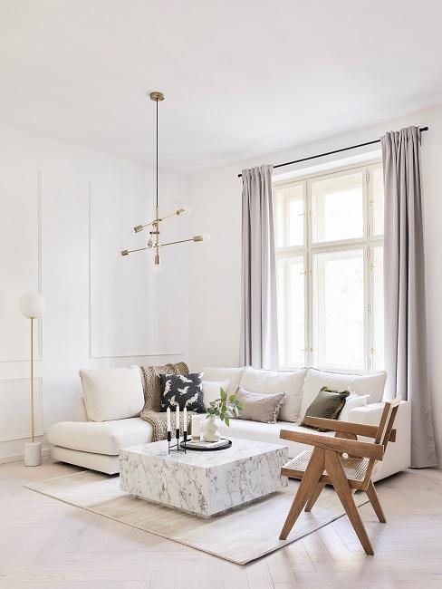 Moderne Wohnungseinrichtung Wohnzimmer Sofaecke