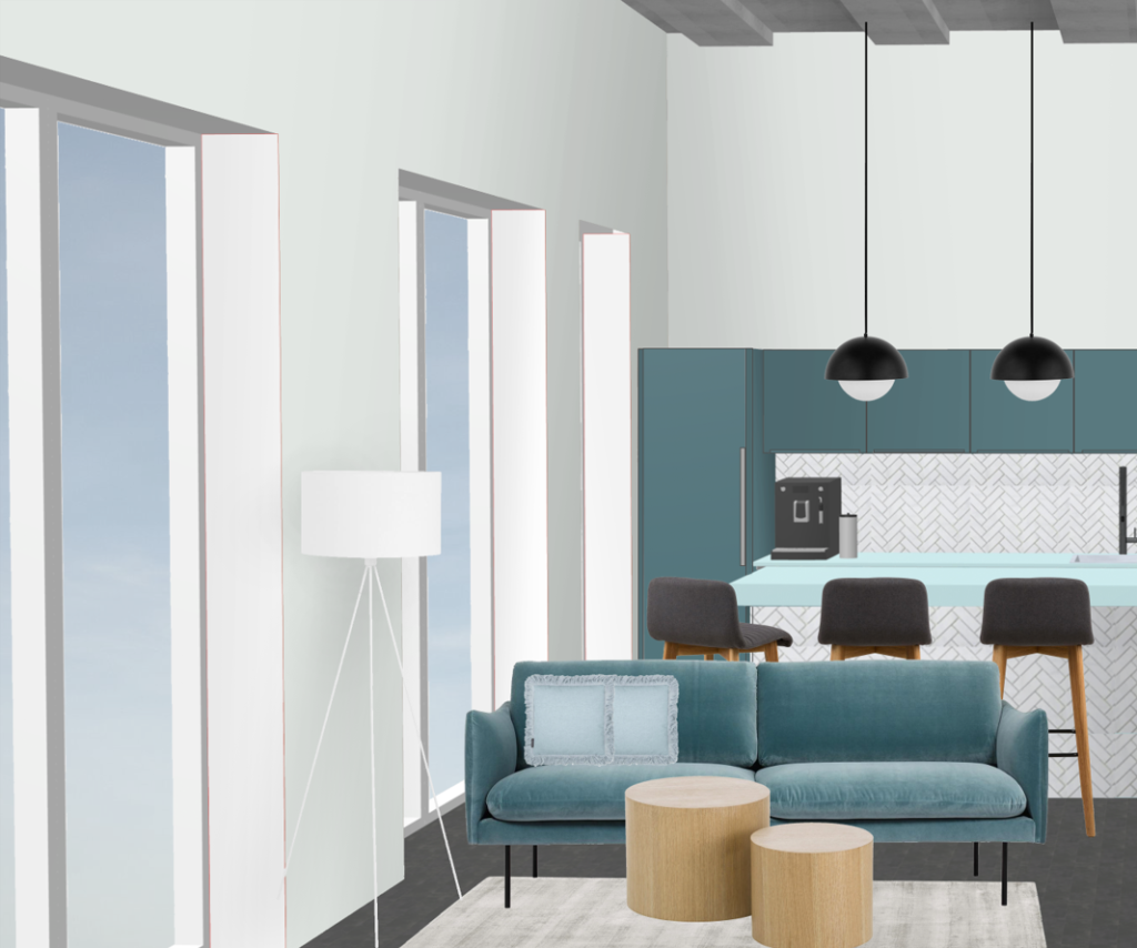 Bürogebäude Büroräume einrichten Lounge 3
