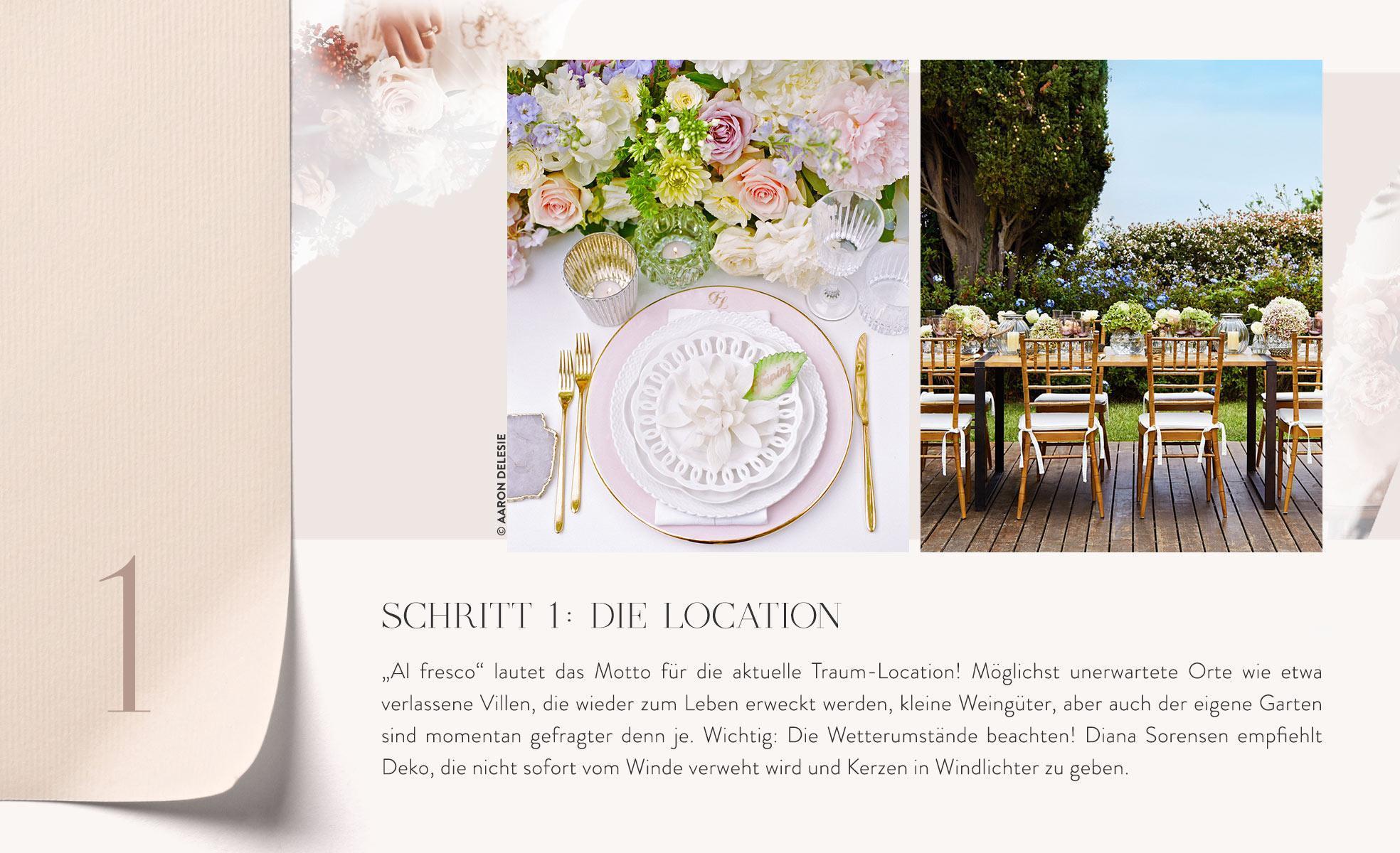 Location für kleine Hochzeit