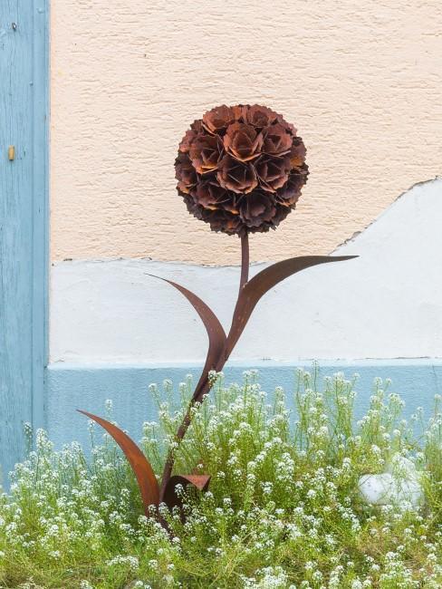 Garten dekorieren mit Rost