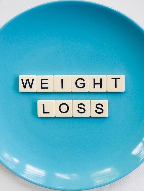 Abnehmen ohne Hungern Teller