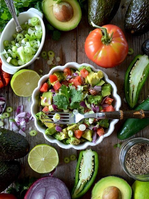 Low Fat Diät Obst Gemüse