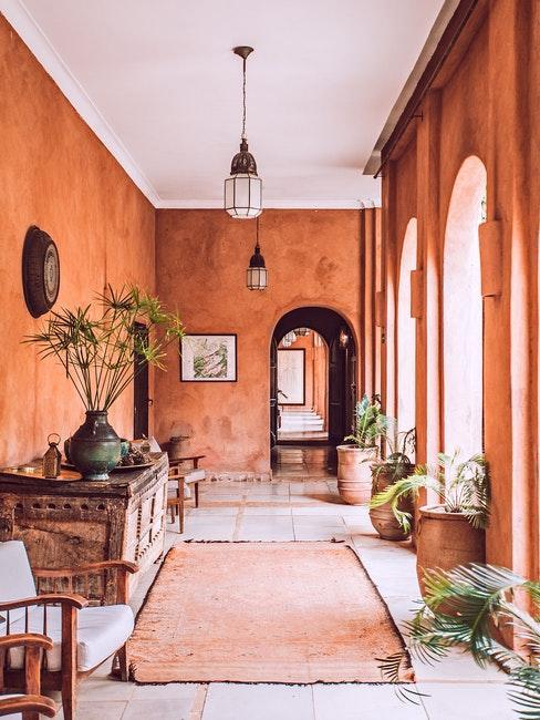 Orientalischer Innenhof