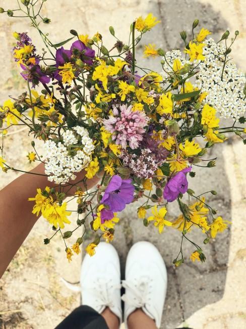 Wiesenblumen Strauss für Freunde