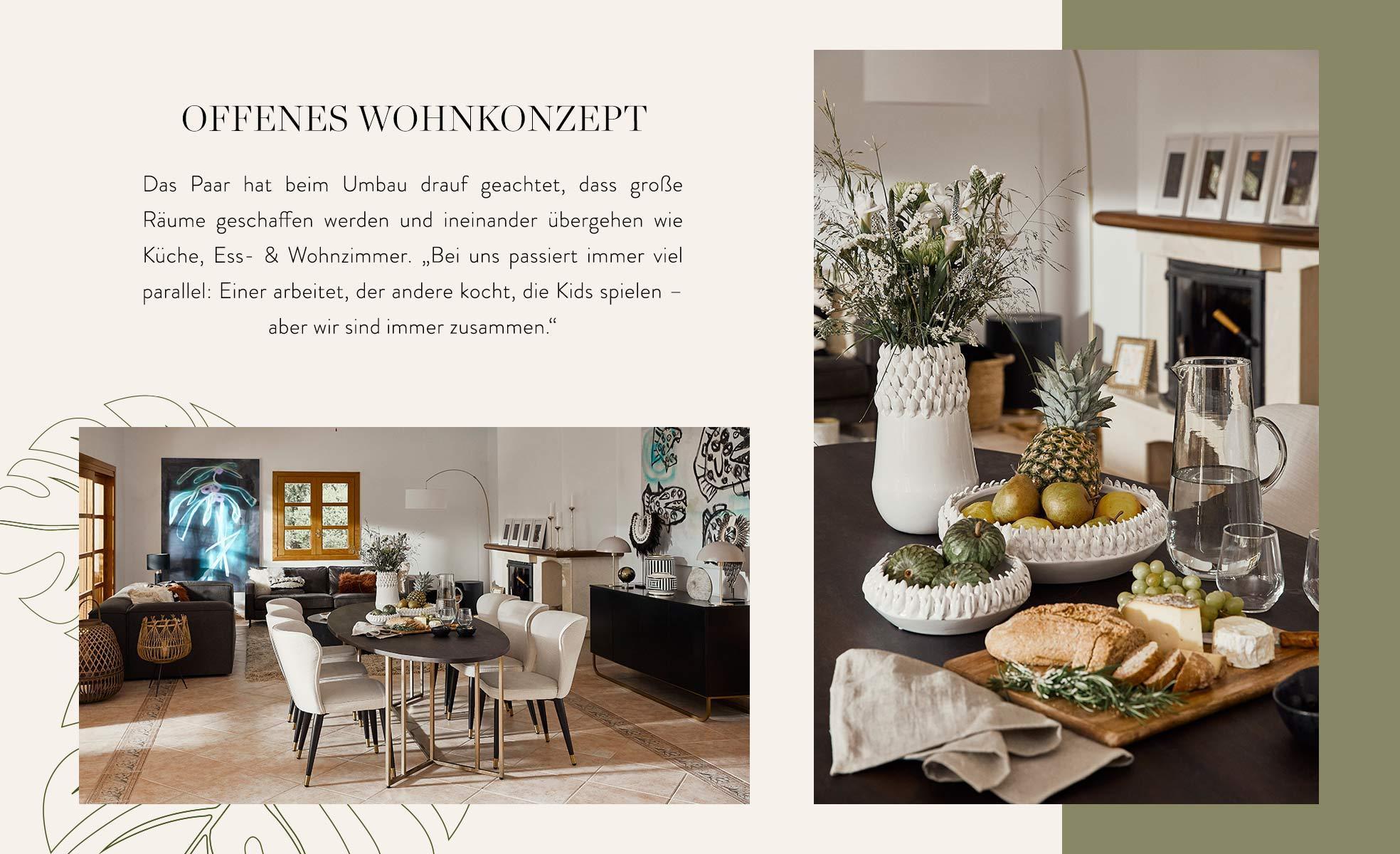Nazan Eckes offenes Wohnkonzept