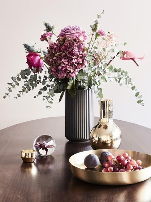 Blumenstrauß in Rosa- und Pinktönen