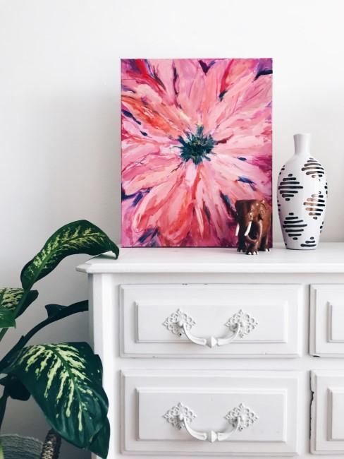 Bild von Blume in Rosa und Pink