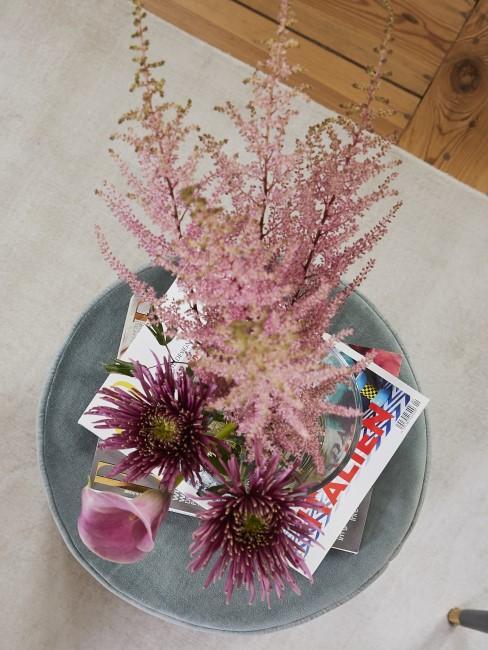 Blumenstrauß in Rosanuancen