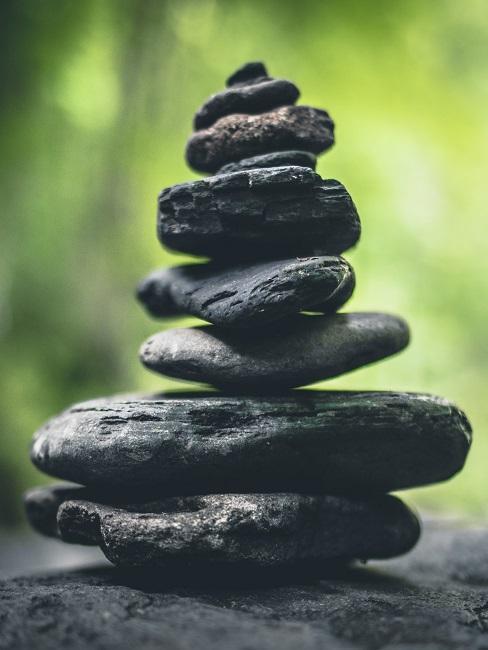 Steine übereinander gestapelt