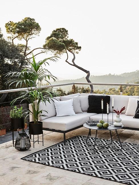 Sitzecke für den Outdoor Bereich