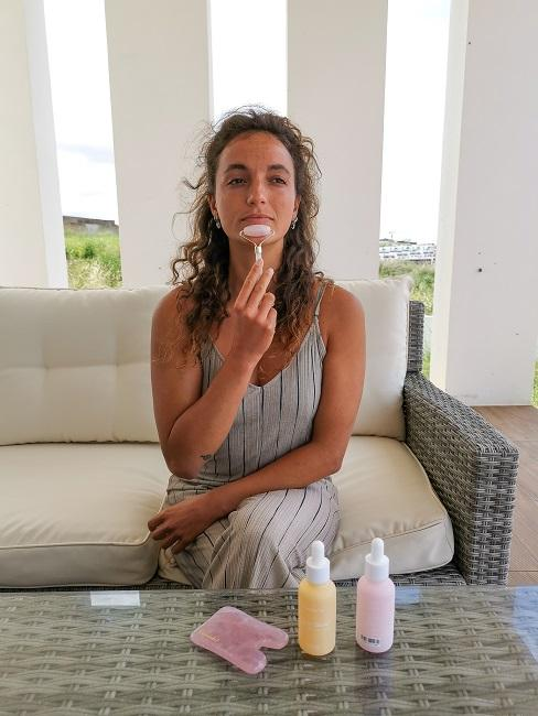 Face Yoga Face Roller Lippen Mund