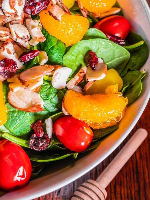 clean eating gericht Salat