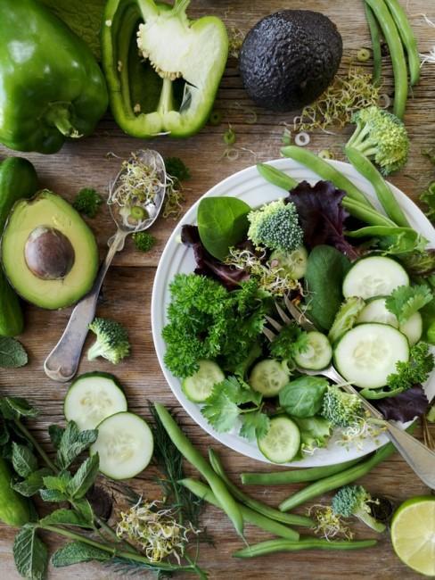 Verschiedenes grünes Gemüse