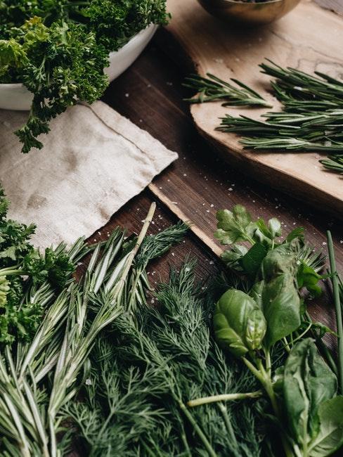Leckere Kräuter für die Küche