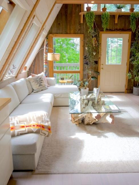 Bodenbelag im Gartenhaus wohnlich gestalten