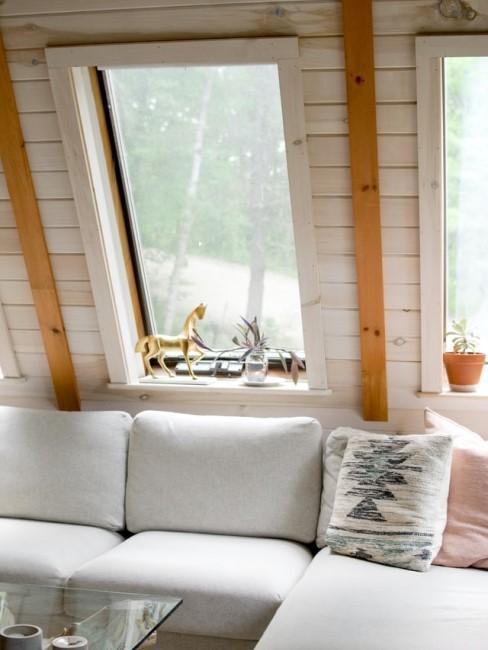 Schöne Inneneinrichtung für eine Gartenhütte