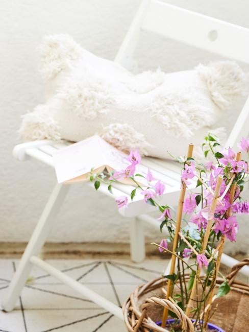 Gartenmöbel in Weiß
