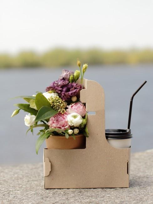 Blumenstrauß To-go