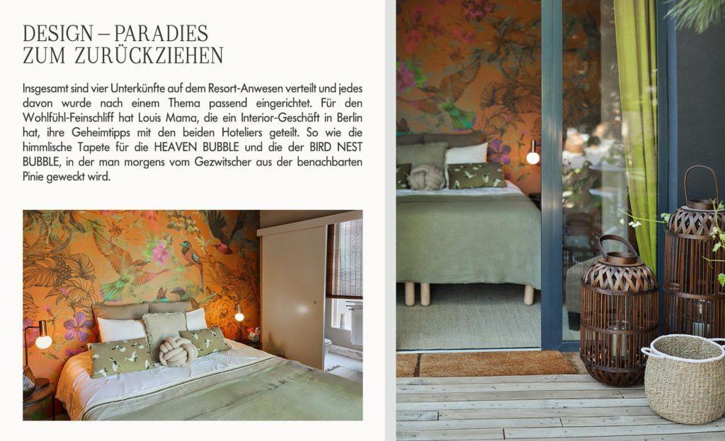 Jessica Schwarz Rêves Étoilés  Zimmer Interior Design