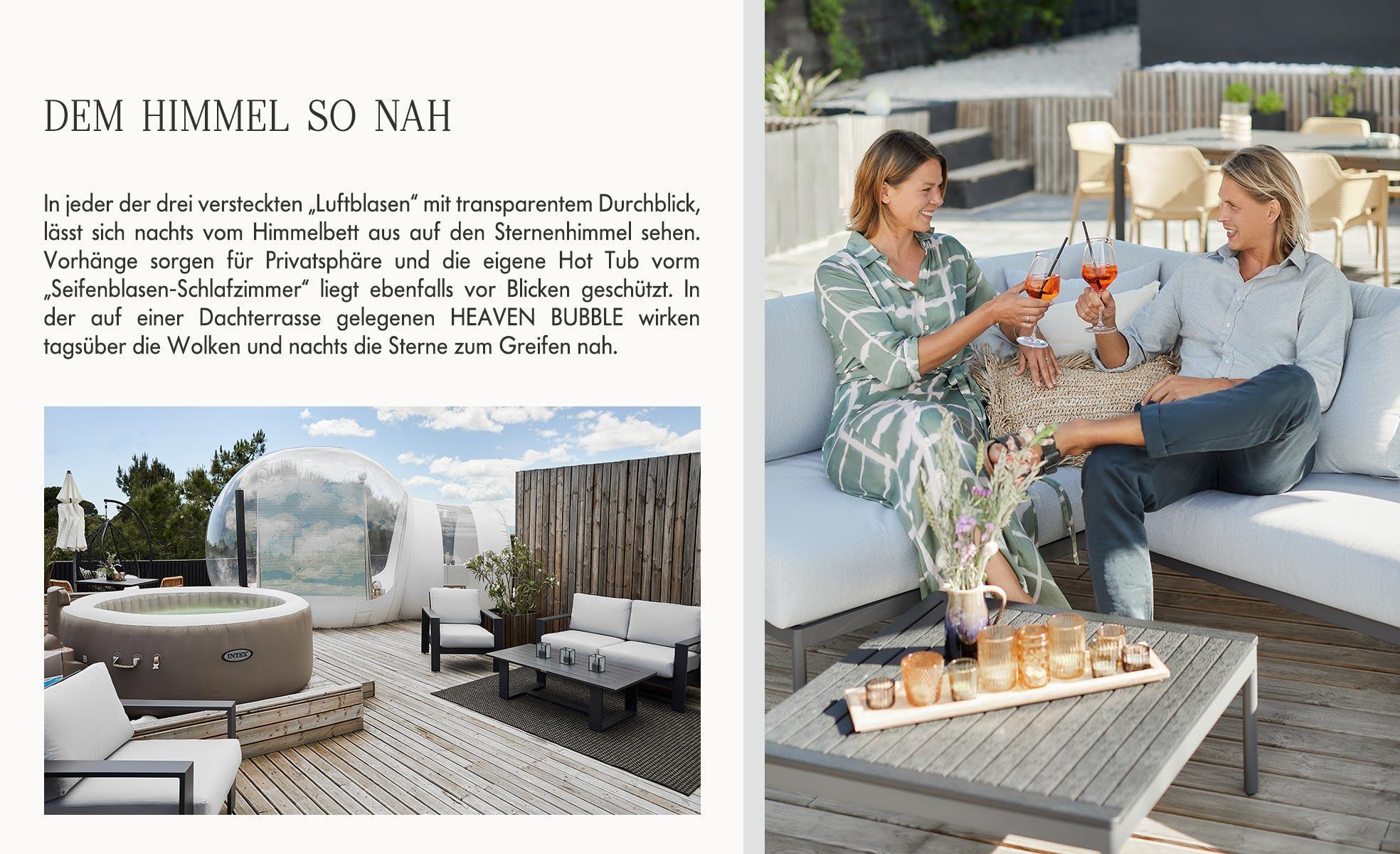 Jessica Schwarz Reves Etoiles Zimmer Interior Design Heaven Bubble Hotel