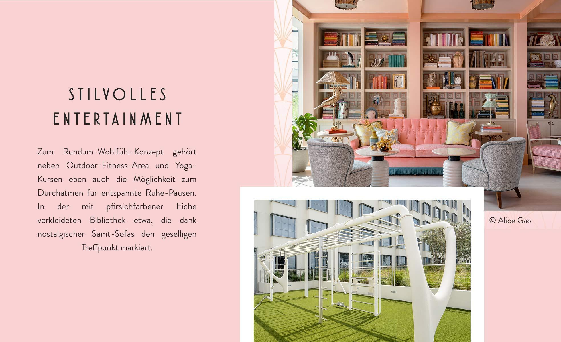 Pharrell Williams the Goodtimes Hotel Wellness Yoga Bibliothek
