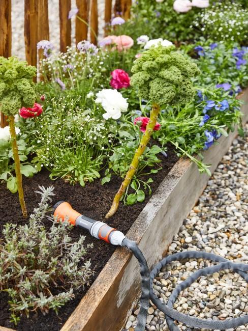 Gartenzubehör fürs Beete bewässern