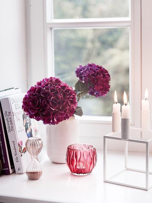 Sanduhr Fensterbrett Wohnzimmer Deko Lesen