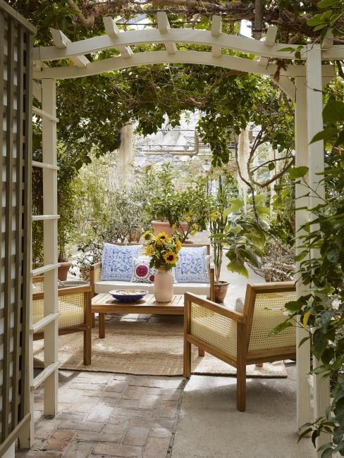 Wintergarten einrichten Inspiration