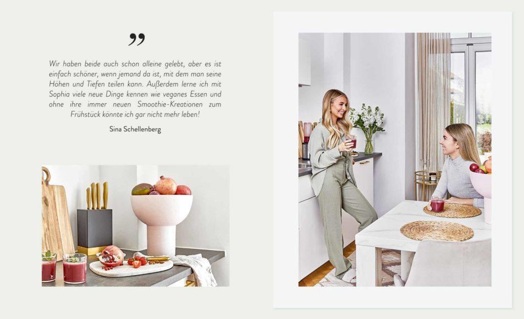 Phiaka WG Zitat Küche Obstkorb Ernährung