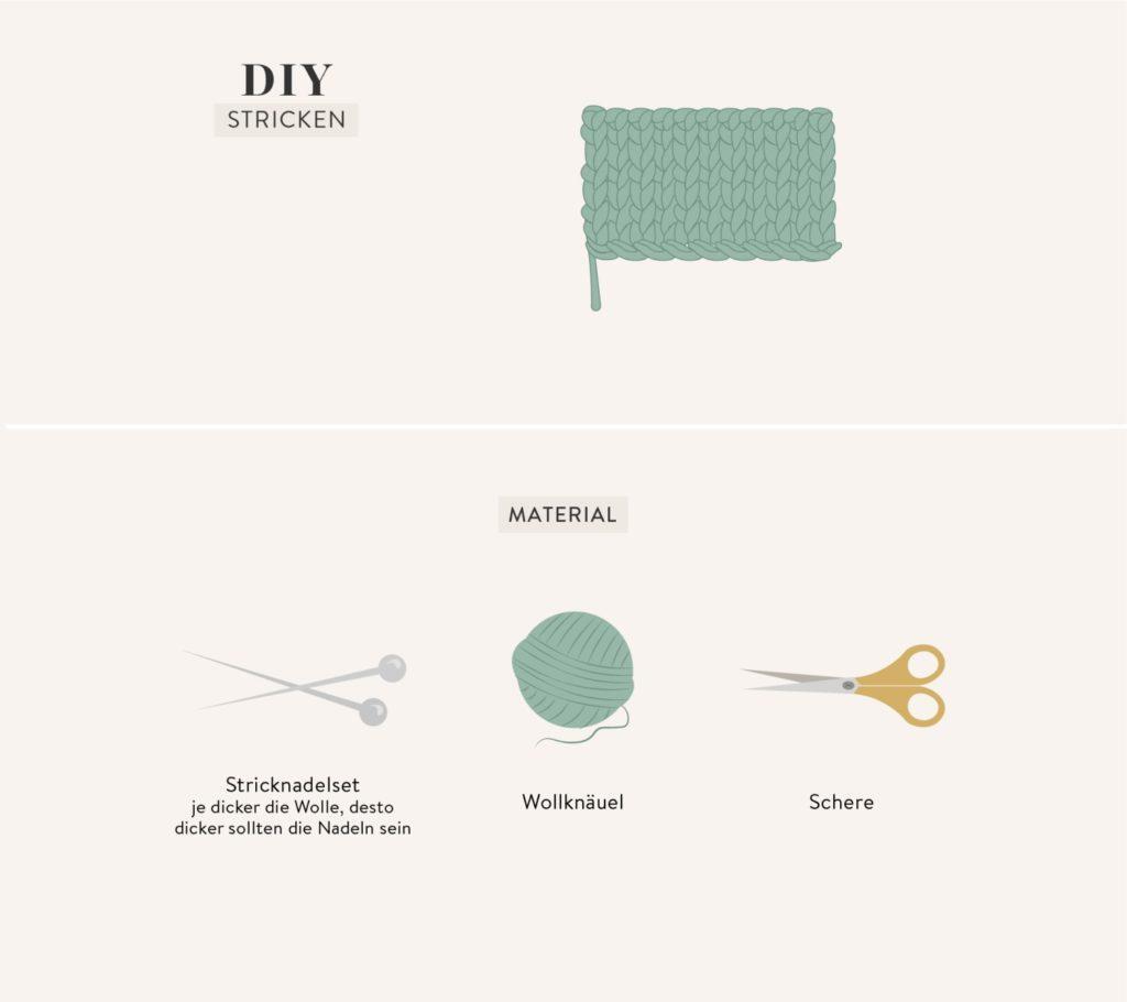 DIY Grafik Stricken lernen für Anfänger