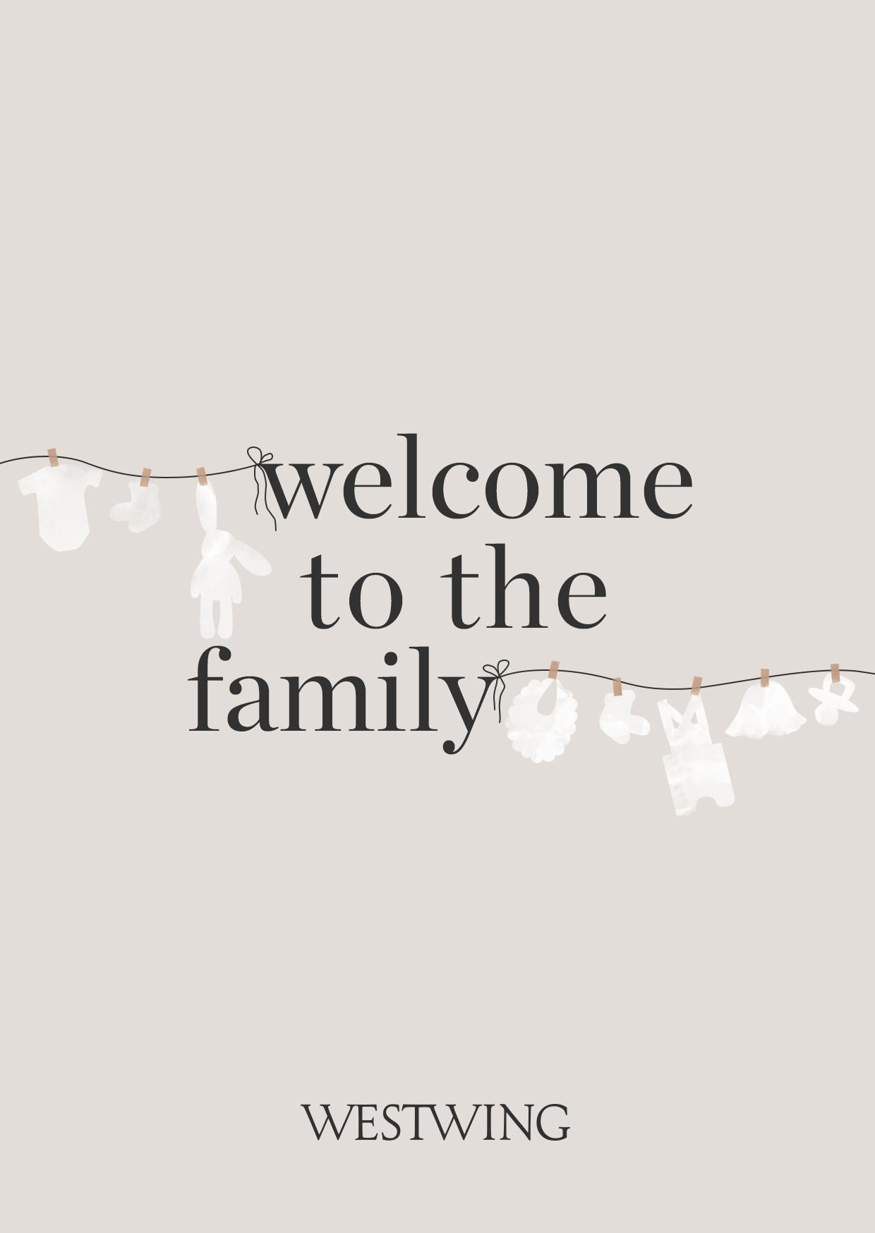 Spruch zur Geburt Willkommen in der Familie