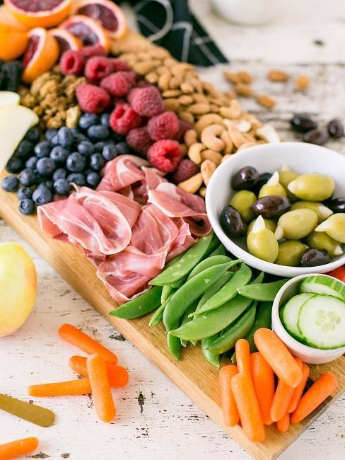 Paleo Diät Fleisch Gemüse Obst