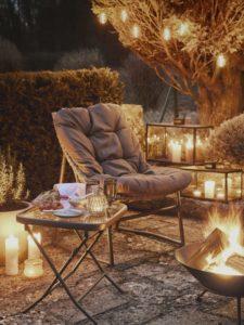 Gartengestaltung mit Feuerschalen