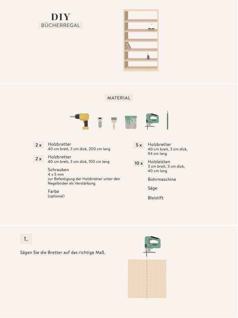 Regal selber bauen Einfache Anleitung & schöne Ideen   Westwing