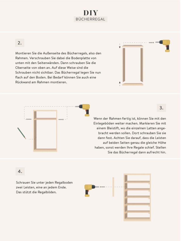 Bauanleitung fürs Regal selber bauen