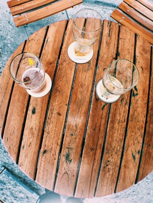 Trinksprüche leere Gläser